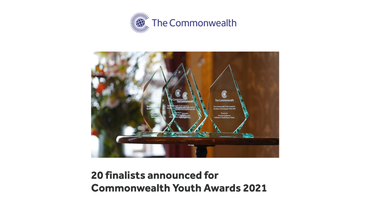 Commonwealth Awards 2021 Finalists