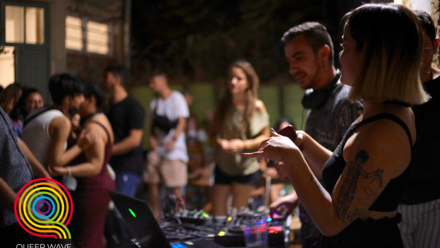 Move to the rhythm of QUEER WAVE 2021 : DJ SETS AND PARTIES
